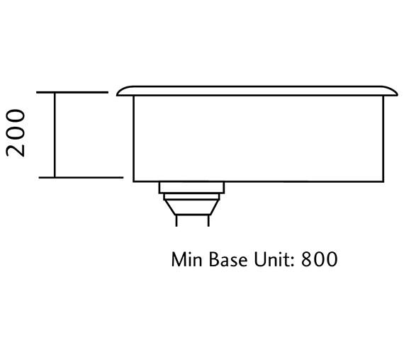 Technical drawing QS-V18872 / KUB70/