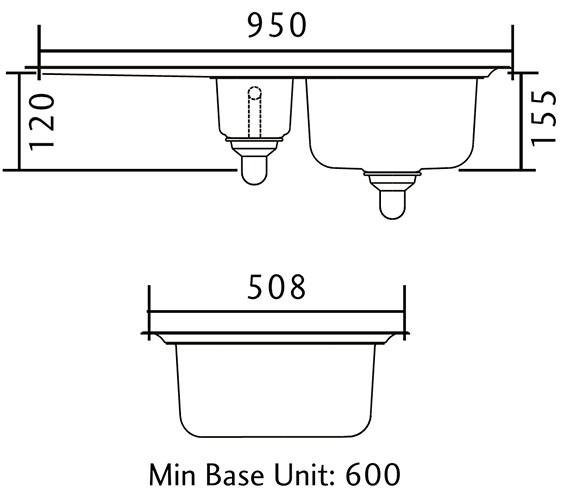 Technical drawing QS-V11037 / GL9502/