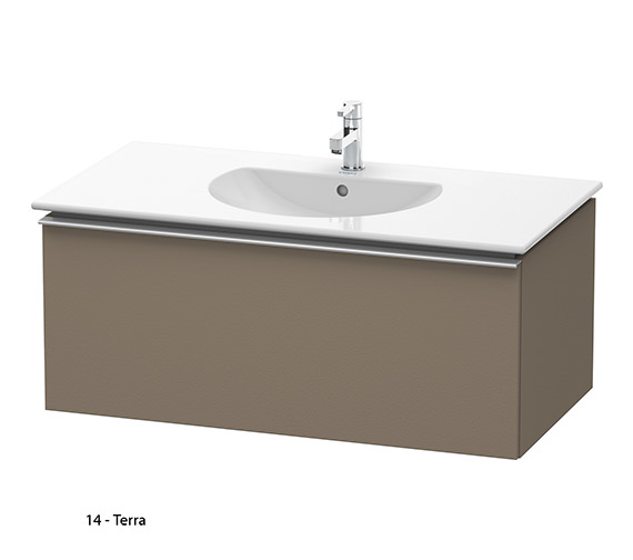 Additional image of Duravit Darling New 1000mm White Matt Vanity Unit With 1030mm Basin