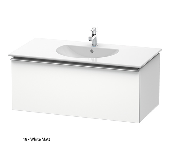 Additional image of Duravit Darling New 1000mm Terra Vanity Unit With 1030mm Basin