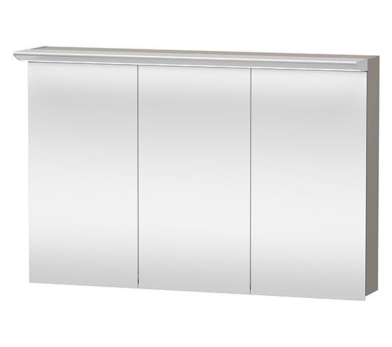 Duravit Darling New 1200mm 3 Door Mirror Cabinet - DN753801414