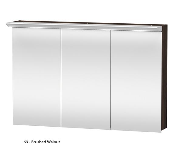 Alternate image of Duravit Darling New 1200mm 3 Door Mirror Cabinet - DN753801414