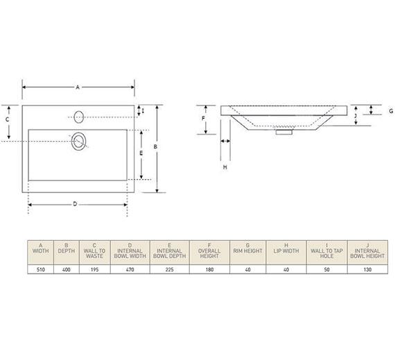 Technical drawing QS-V21238 / CL50