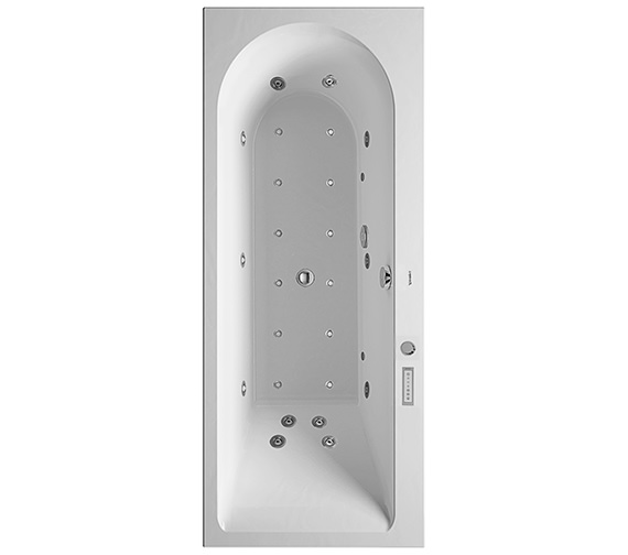 Duravit Darling New 1700 x 700mm Bath With Left Slope And Combi-System E