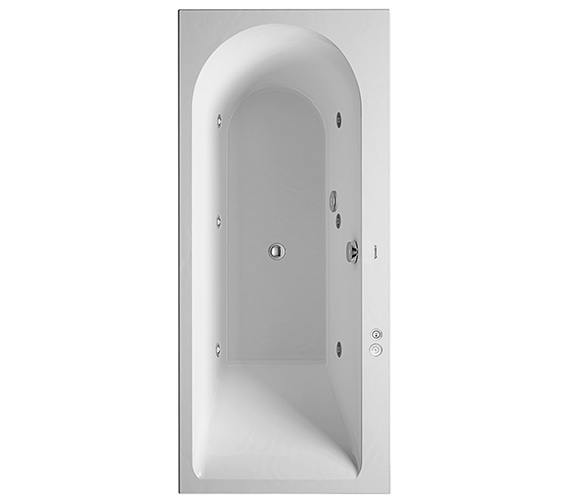 Duravit Darling New 1600 x 700mm Bath With Jet-System - Left Or Right Available