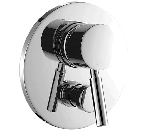 Saneux Tempus Concealed Manual Round Shower Valve With Diverter