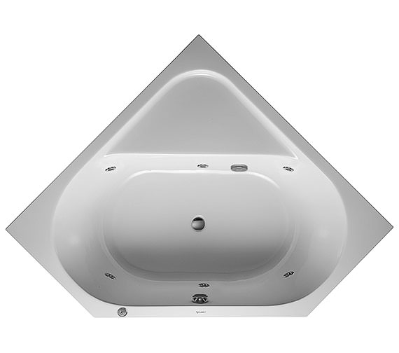 Duravit D-Code 1400 x 1400mm Built-In Corner Bath With Jet Project