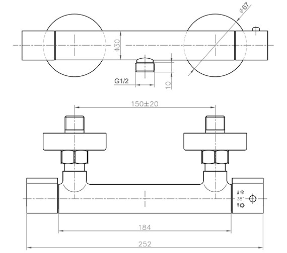 Technical drawing QS-V86340 / CO039