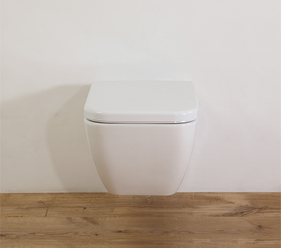 Saneux Matteo Wall Hung WC Pan With Toilet Seat