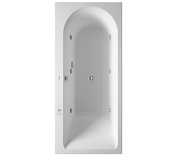 Duravit Darling New 1700 x 750mm Bath With Right Slope And Jet-System