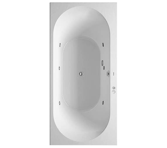 Duravit Darling New 1900 x 900mm Bath With Jet-System