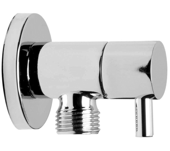Saneux Shower Outlet Elbow With Built-In 0.5 Inch Stopcock