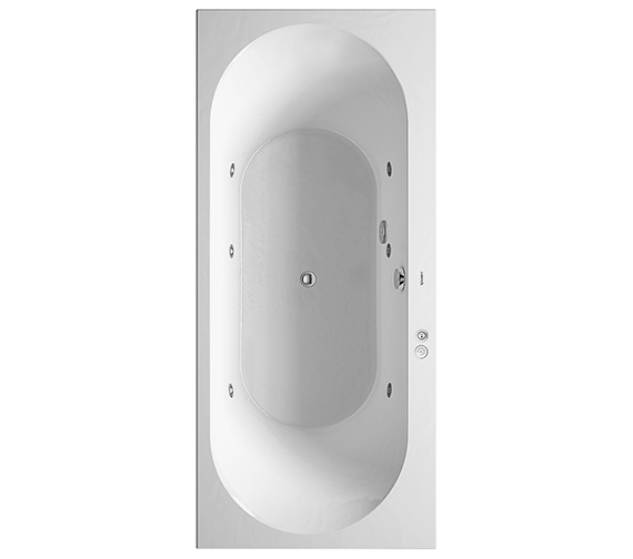 Duravit Darling New 1800 x 800mm Bath With Jet-System