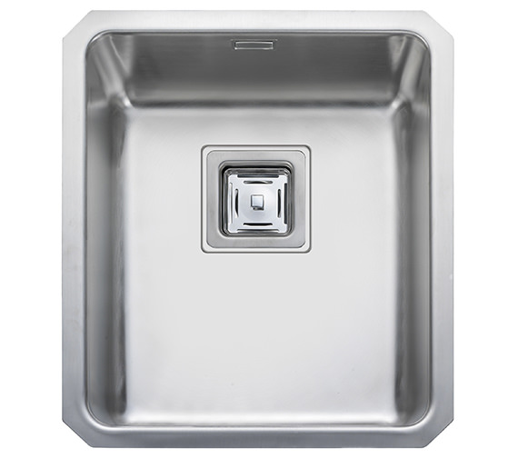 Rangemaster Atlantic Quad 390 x 450mm Stainless Steel 1.0B Undermount Sink