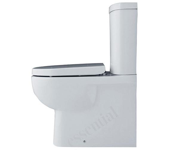 Essential Lily Top-Quality Close Coupled BTW Pan And Cistern - EC1009