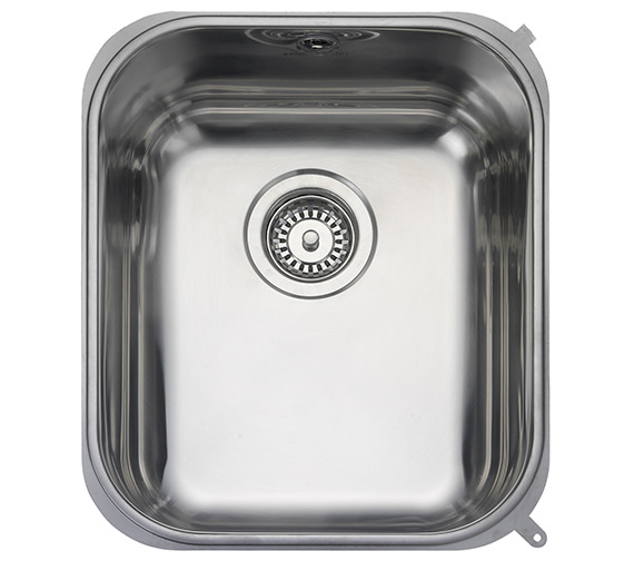 Rangemaster Atlantic Classic 378 x 448mm Stainless Steel 1.0B Undermount Sink