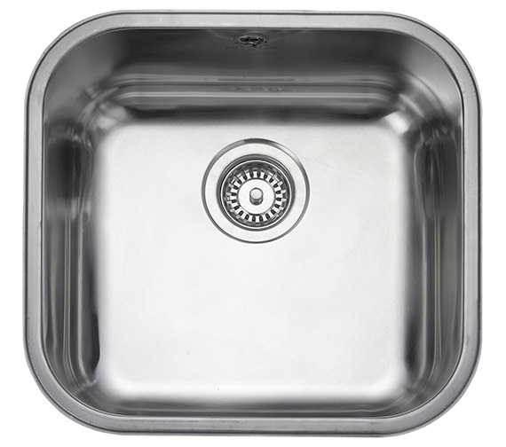 Rangemaster Atlantic Classic 460 x 440mm Stainless Steel 1.0B Undermount Sink