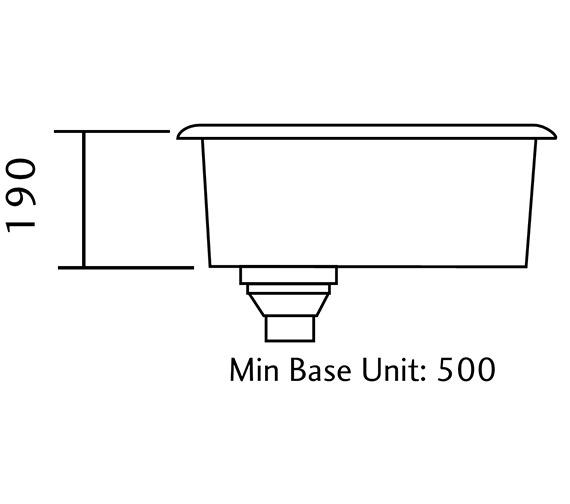 Technical drawing QS-V11077 / UB40/