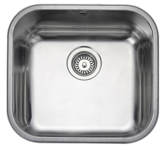 Rangemaster Atlantic Classic 490 x 460mm Stainless Steel 1.0B Undermount Sink