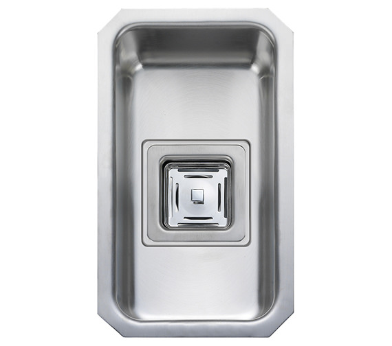 Rangemaster Atlantic Quad 200 x 340mm Stainless Steel 1.0B Undermount Sink
