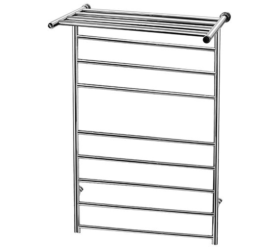 Saneux Tempus 618 x 983mm Round Dry Electric Heated Towel Rail