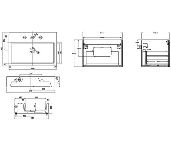 Technical drawing QS-V88179 / M0101.1