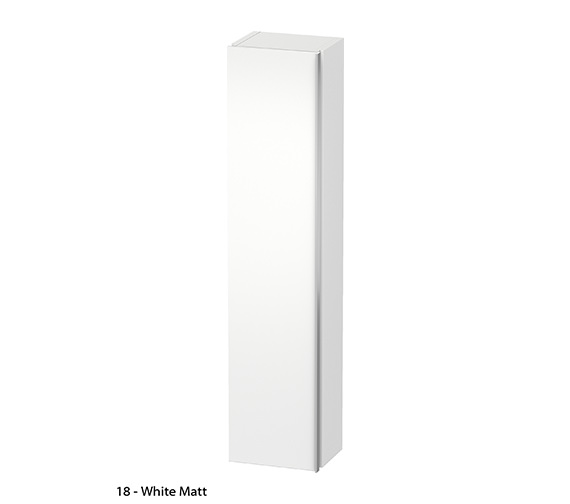 Additional image of Duravit Darling New 400 x 1800mm Left Hand Tall Cabinet