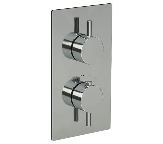 Alternate image of Saneux Cos Thermostatic Valve With Slide Rail Kit And Bath Filler Waste