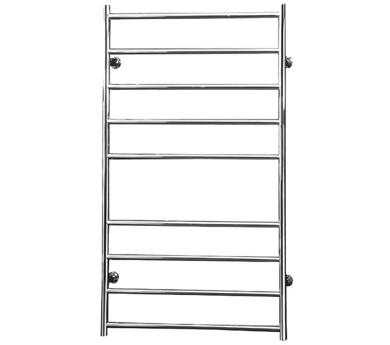 Saneux Tempus 600 x 1000mm Round Dry Electric Heated Towel Rail