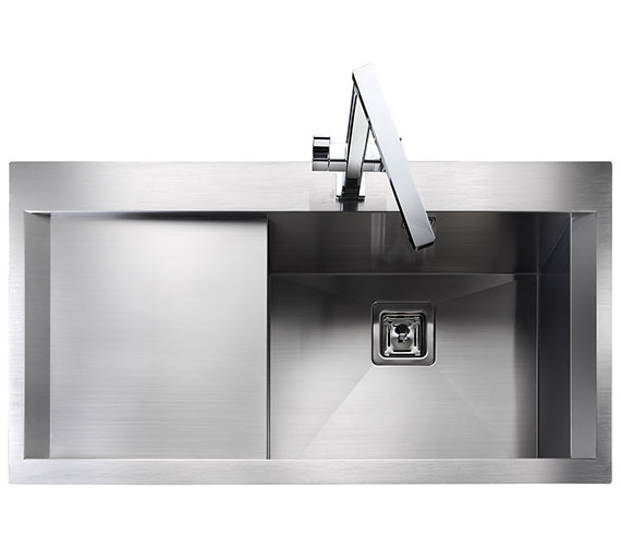 Additional image of Rangemaster Senator 990 x 525mm Stainless Steel 1.0B Inset Kitchen Sink