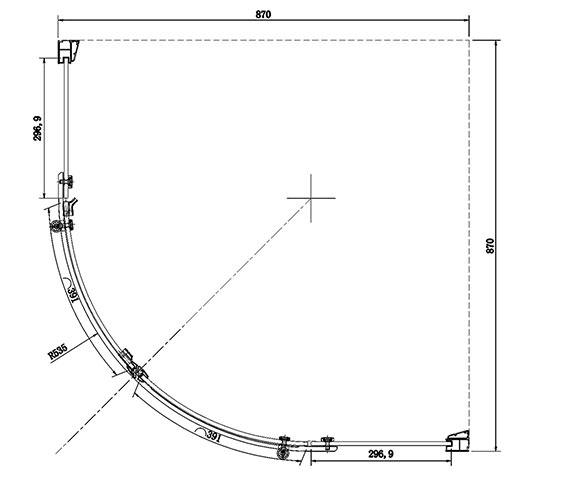 Technical drawing QS-V81469 / SE420