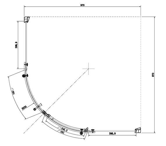 Technical drawing QS-V81470 / SE421