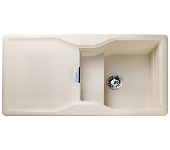 Rangemaster Magma 1000 x 500mm Igneous Granite Stone 1.0B Inset Sink