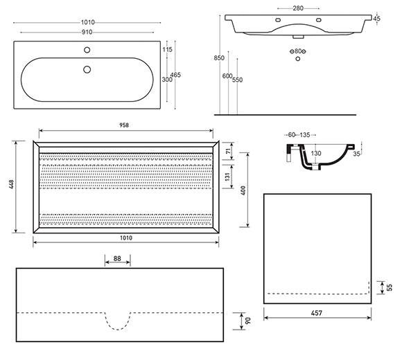 Technical drawing QS-V63552 / FU122