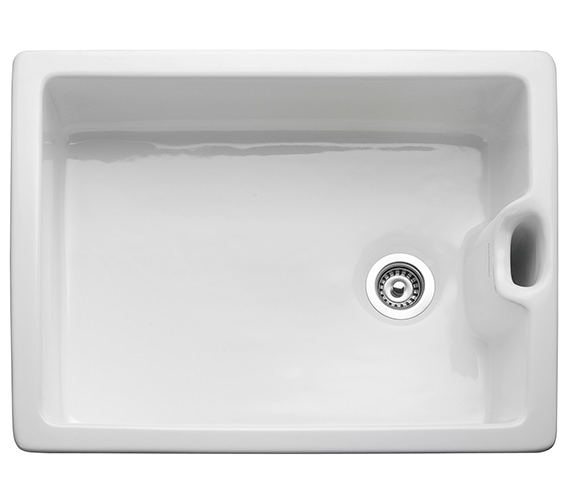 Rangemaster Classic 595 x 455mm Fire-Clay Ceramic 1.0B Belfast Sink