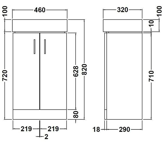 Technical drawing QS-V54826 / NVX193