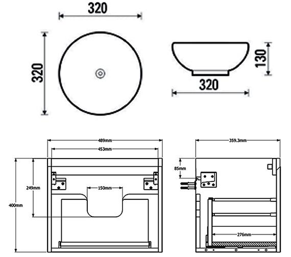 Technical drawing QS-V88196 / MC50.03