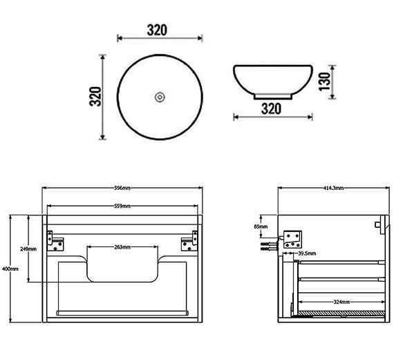 Technical drawing QS-V88196 / M0101.1