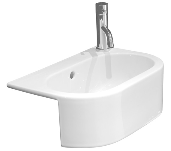 Saneux Uni 460mm Semi Recessed Washbasin