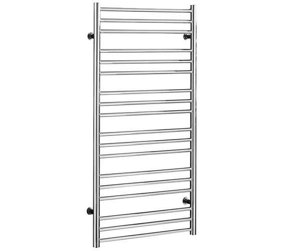 Saneux Tempus 500 x 1210mm Straight Stainless Steel Heated Towel Rail