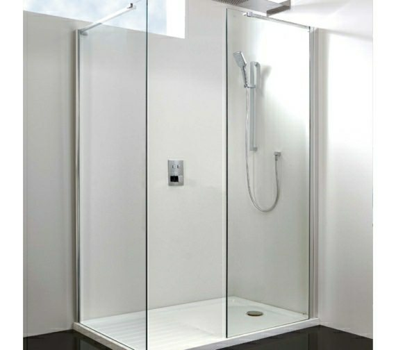 Phoenix 1200mm Shower Panel With Parallel Support Arm