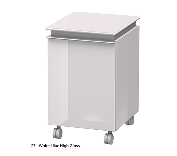 Alternate image of Duravit Darling New Right Hinged Mobile Storage Unit