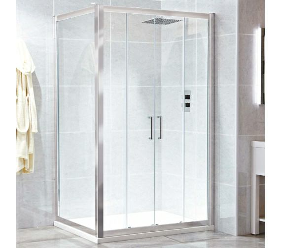 Phoenix Spirit 1600mm Twin Sliding Shower Door