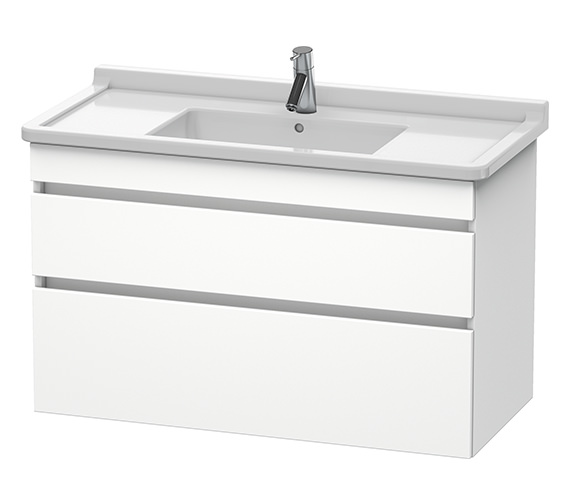 Duravit DuraStyle 1000mm 2 Drawers Unit With 1050mm Starck 3 Basin