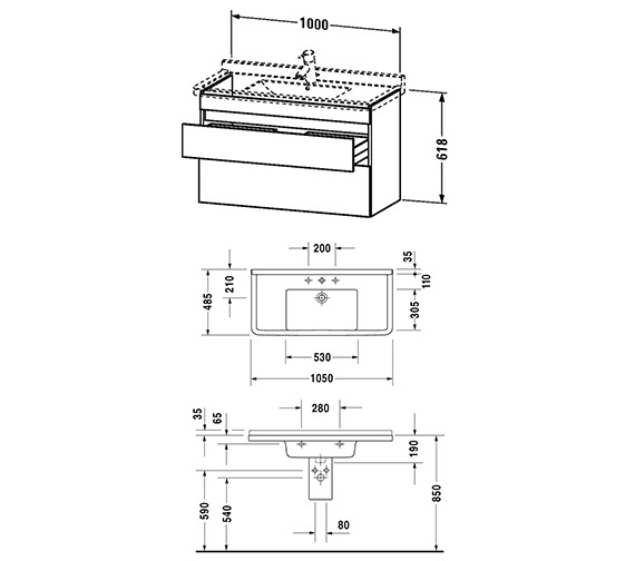 Technical drawing QS-V96236 / DS648901414