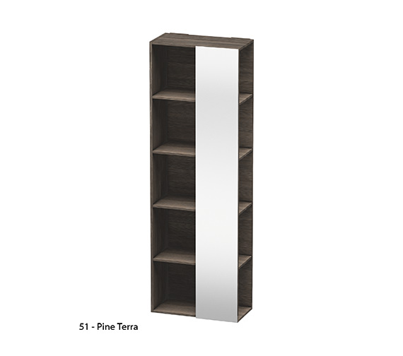 Alternate image of Duravit Darling New Shelf Tall With Right Side Mirror