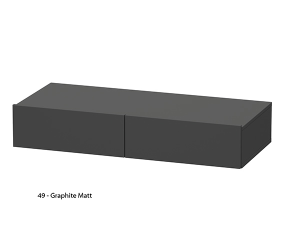 Alternate image of Duravit DuraStyle 1000 x 440mm Shelf With Drawers