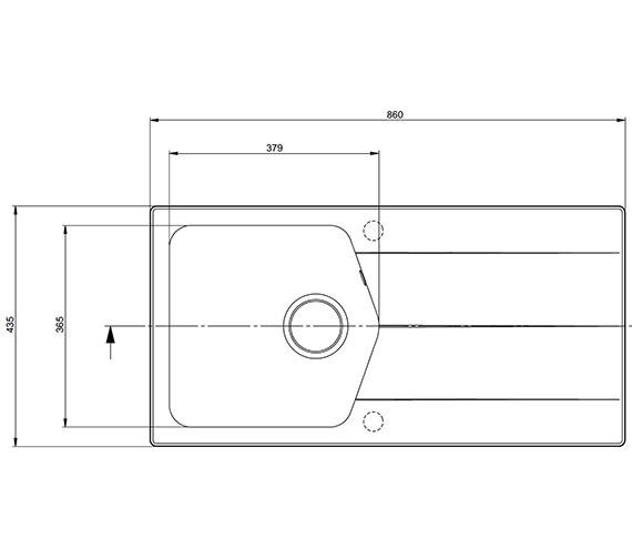 Technical drawing QS-V27674 / CV10RZHOMESK