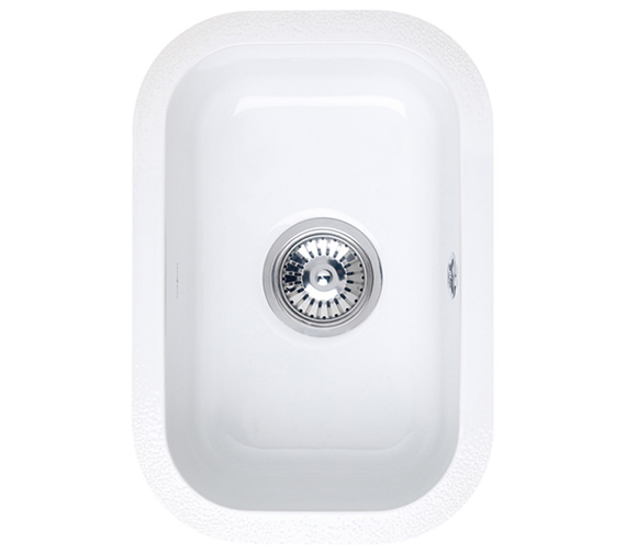 Astracast Lincoln 2540 0 5 Bowl Ceramic Gloss White