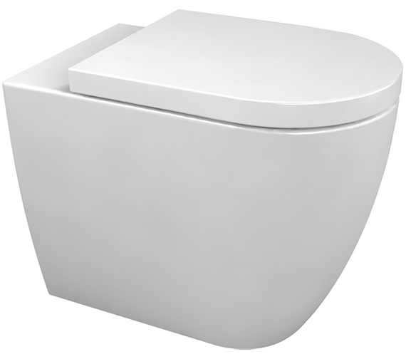 Saneux Ylo Back To Wall Pan With Floor Outlet